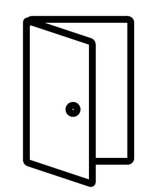 Recessed Doors Icon